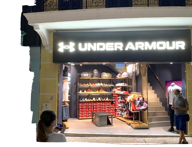 under armour retail outlet