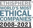 Ethisphere World's Most Ethical Companies 2008-2021