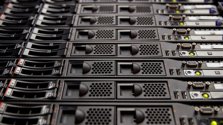 Server room rack panels